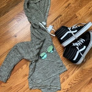 Garage Hooded Slouchy Sweater